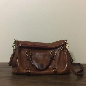 ✨AUTHENTIC✨ D&B Leather Florentine satchel